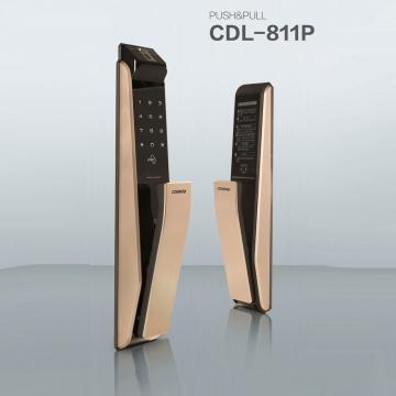 指紋門鎖 康邁世COMMAX電子鎖 型號CDL-811P 韓國安防上市公司 0800-000-420
